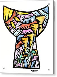 Latte Stones Guam 2009 Acrylic Print