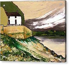 Laugharne Wales  Acrylic Print