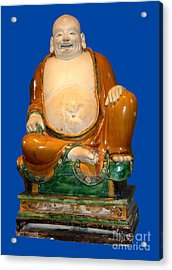 Laughing Monk Acrylic Print