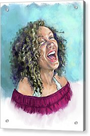 Laughing Out Loud Acrylic Print