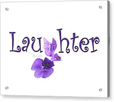 Laughter Shirt Acrylic Print
