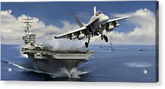 Launch Acrylic Print by Dale Jackson