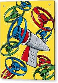 Launcher Gun Acrylic Print by Ron Magnes