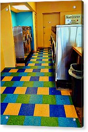 Laundry Colors Acrylic Print
