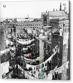 Laundry Day Acrylic Print by Andrew Fare