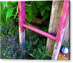 Laura's Ladder Acrylic Print by Jen White