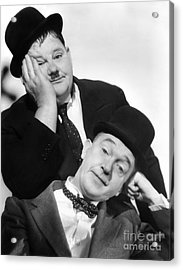 Laurel And Hardy, 1939 Acrylic Print by Granger