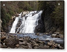 Acrylic Print featuring the photograph Laurel Falls In Spring #1 by Jeff Severson