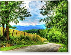 Laurel Hill View Acrylic Print