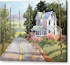 Laurel Mountain Farm Acrylic Print