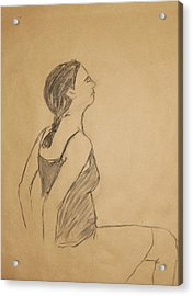 Lauren No.1 Acrylic Print by Marina Garrison