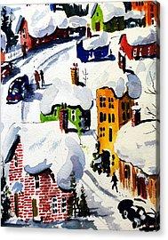 Laurentian Snows Acrylic Print