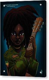 Lauryn Hill Acrylic Print
