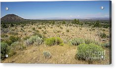 Acrylic Print featuring the photograph Lava Beds National Monument California Dsc5317 Panorama by Wingsdomain Art and Photography
