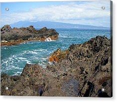 Lava Coastline - West Maui Acrylic Print