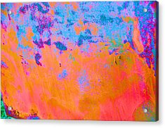 Lava Explosion Acrylic Print by Jan Amiss Photography