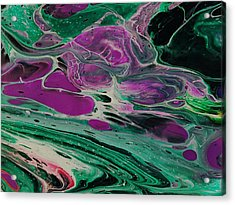 Lava From Venus Acrylic Print
