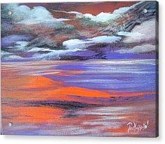 Lava Lagoon Acrylic Print