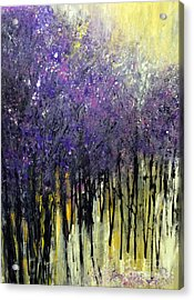 Acrylic Print featuring the painting Lavender Dreams by Priti Lathia