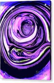 Lavender Ring Acrylic Print