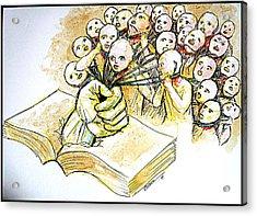 Law Acrylic Print by Paulo Zerbato