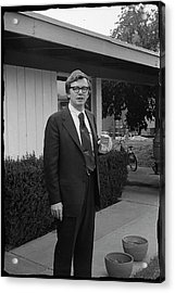 Lawyer With Can Of Tab, 1971 Acrylic Print