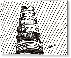 Layer Cake 1 2015 - Aceo Acrylic Print
