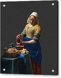 Layered 16 Vermeer Acrylic Print