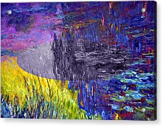 Layered 17 Monet Acrylic Print