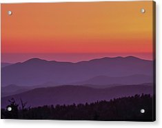 Acrylic Print featuring the photograph Layers 2005 01 by Jim Dollar