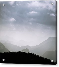Acrylic Print featuring the photograph Layers And Light by Alexander Kunz