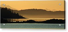 Layers Acrylic Print by Mark Alan Perry
