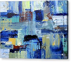 Layers Of Color Acrylic Print