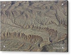 Layers Of Erosion Acrylic Print by Tim Grams