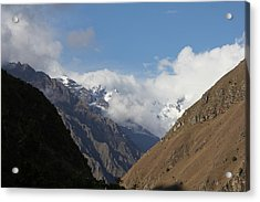 Layers Of Mountains Acrylic Print