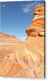 Layers Of Sandstone Acrylic Print by Tim Grams
