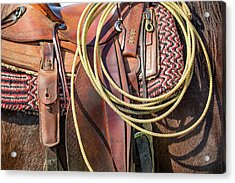 Layers Of Tack Acrylic Print by Todd Klassy