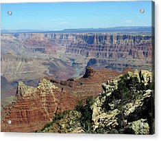 Layers Of The Canyon Acrylic Print