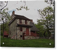 Layfayette's Headquarters At Brandywine Acrylic Print