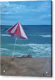 Layin Out Acrylic Print by Pete Maier