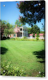 Acrylic Print featuring the photograph Lazy Summer Day - The Hermitage by James L Bartlett