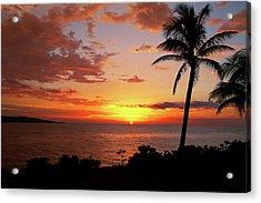 Lazy Sunset Acrylic Print