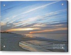 Lb Sunrise Acrylic Print by Scott Evers