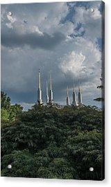 Lds Storm Clouds Acrylic Print