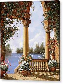 Le Arcate Sul Lago Acrylic Print
