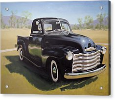 Le Camion Noir Acrylic Print