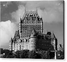 Le Chateau Frontenac - Quebec City Acrylic Print by Juergen Weiss