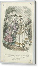 Le Conseiller Des Dames Et Des Demoiselles, Juin 1862 Journal D Economie..., Anonymous, A. Leroy, 18 Acrylic Print by Celestial Images