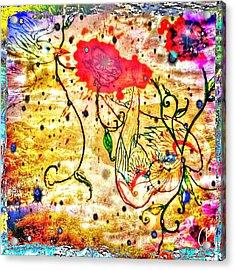 Le Fil Acrylic Print
