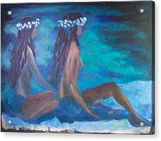Le Hawaiane  Acrylic Print